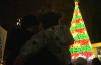 Mikołaj odpalił gdyńską choinkę multimedialną