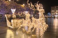 Świąteczne iluminacje w Sopocie