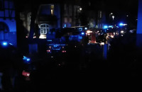 Pożar w Gdańsku Wrzeszczu