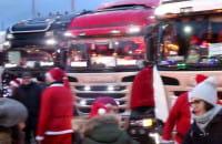 W niedzielę ulicami Gdyni przejechał konwój Mikołajów