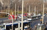 Wypadek na Węźle Wzgórze w Gdyni