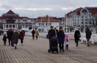 Świąteczny spacer w Sopocie