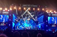 Voo Voo podczas finałowego koncertu WOŚP przed ECS w Gdańsku