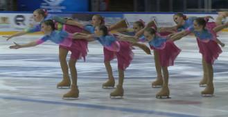 Mistrzostwa w łyżwiarstwie synchronicznym w Gdańsku 2020