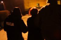 Zatrzymania członków gangu sutenerów