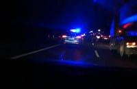 Zderzenie 8 samochodów przed Witominem