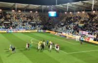 Arka Gdynia - Cracovia 0:1. Reakcja kibiców
