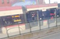 Zatrzymanie ruchu tramwajów przy Dworcu Głównym