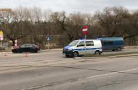 Skutki wypadku na ul. Potokowej