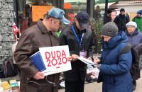 Przymorze: zbierają głosy poparcia dla Andrzeja Dudy oraz Kidawy-Błońskiej