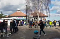 Wiosna w Brzeźnie. Tłumy spacerowiczów