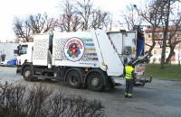 Nowoczesna śmieciarka potrafi segregować odpady