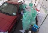Badanie na obecnośc koronawirusa przy Instytucie Medycyny Morskiej i Tropikalnej w Gdyni