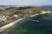 Plaża w Orłowie szersza o 40 metrów