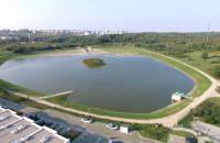 Zbiornik Świętokrzyska 1 z lotu ptaka