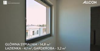 Domy Malczewskiego Allcon - dom 8B - Gdansk Siedlce - nowy dom z ogrodem i garażem na 2 samochody
