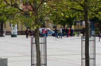 Policja sprawdza noszenie maseczek w Sopocie
