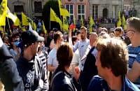 Tłumy i owacje na Długim Targu