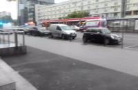 Wypadek koło Manhattanu