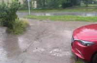 Intensywny deszcz w Gdańsku