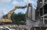 Wyburzanie w śródmieściu Gdyni
