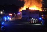 Pożar pustostanu we Wrzeszczu