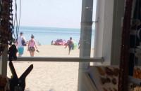 Akcja służb na plaży w Sopocie