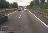 Przejazd w kierunku Gdańska tylko jednym pasem