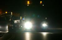 Nocny transport elementów estakady