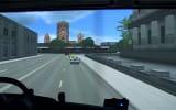 W symulatorze ciężarówki