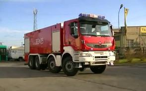 Nowy wóz gdańskiej straży pożarnej