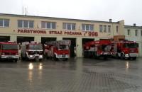 Protest Straży Pożarnej w Gtdańsku