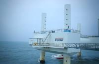 Wave Star Energy przy molo w Hanstholm w Danii