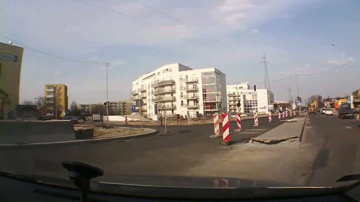 Na wrzeszczańskim odcinku Trasy Słowackiego oddano do użytku fragment tzw. ul. Nowej Kościuszki.