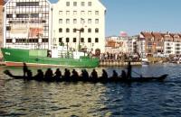 Smocze łodzie na Motławie