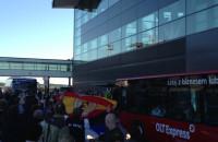 Reprezentacja Hiszpanii na gdańskim lotnisku