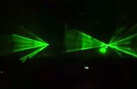 Pokaz laserów po finale Euro 2012