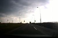 Ugięcie jezdni na ul. Elbląskiej okiem kierowcy