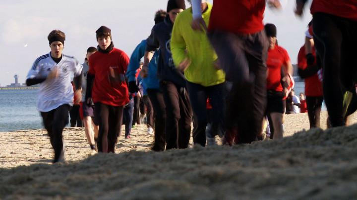 Amatorów biegania nie brakuje, podczas akcji Gdańsk Biega zebrało się ich aż 4,5 tys.
