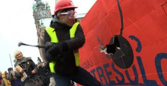 Pogromcy antresoli na dworcu w Gdańsku