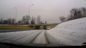 Droga ZIelona do Ergo Areny okiem kierowcy