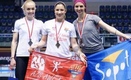 6 medali na Halowych Mistrzostwach Polski