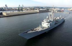 Polskie okręty wyszły w morze na manewry