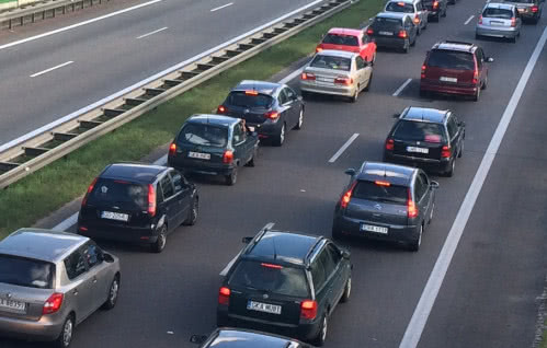 Środowy poranek na drogach Trójmiasta