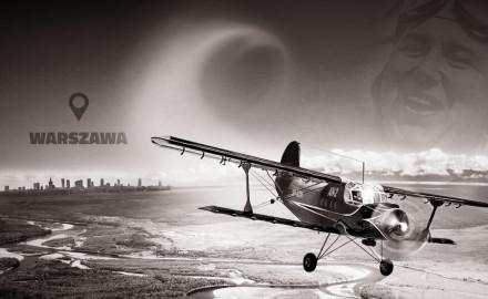 Wyjątkowy lot trójmiejskiego podróżnika