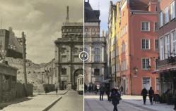 Gdańsk: te same miejsca dawniej i dziś