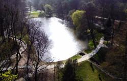 Wiosenne popołudnie w Parku Oruńskim