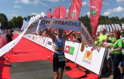 Triathlon Gdańsk wygrał Bartosz Banach