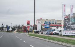 Grunwaldzka - aleja dealerów aut