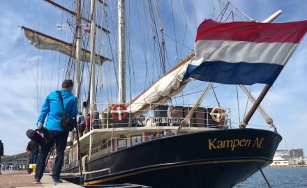 Holenderski żaglowiec w Gdyni